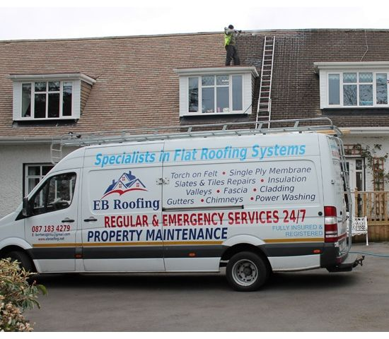EBRoofing - your roofing contractor in Dublin