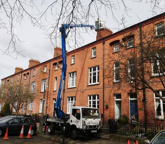 EBRoofing - Cherry Picker Hire Dublin