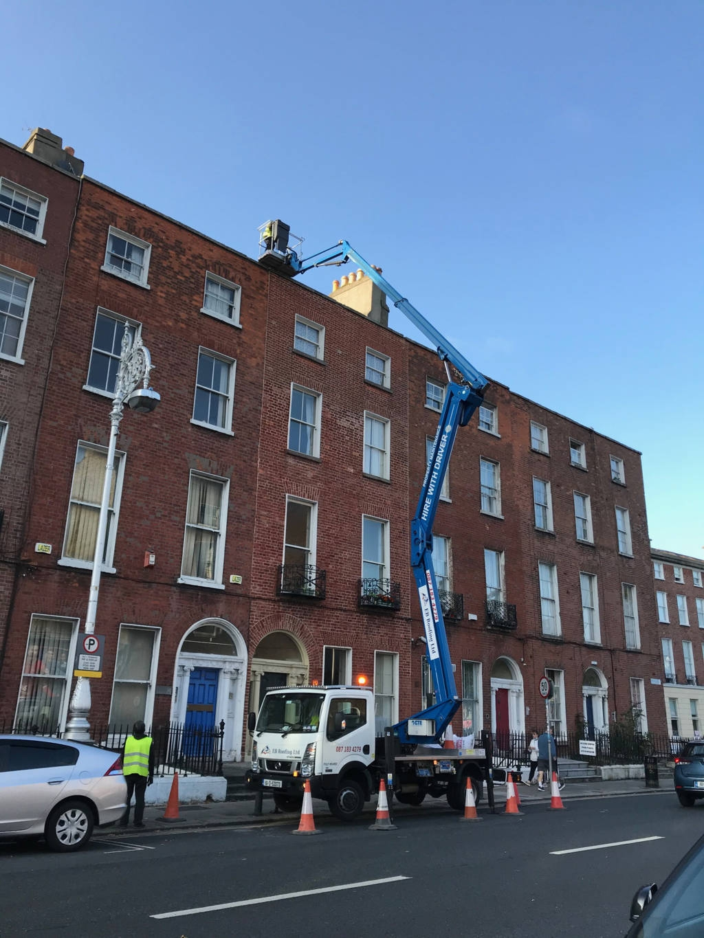 hire cherry picker in Dublin