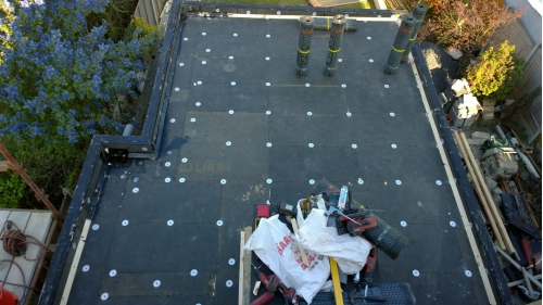 Flat roof project - April 2017