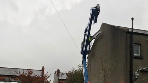 cherry picker - hire in Dublin