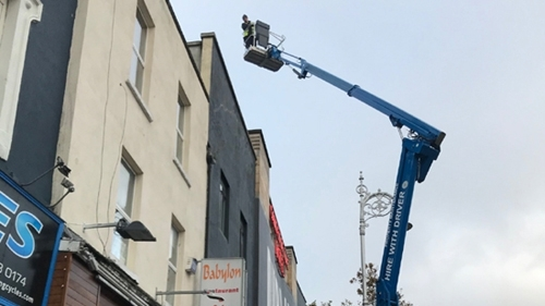 Hire cherry picker