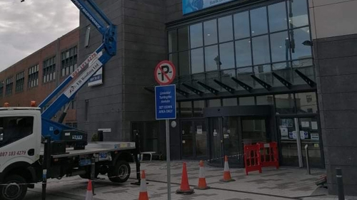 cherry picker - commercial project - Dublin area