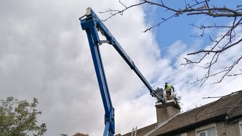 cherry picker - domestic project - Dublin