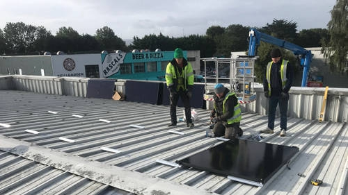 commercial roofing in Dublin