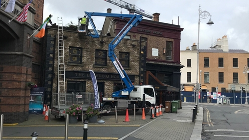 cherry picker services Dublin