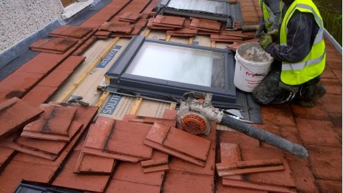 how to install roof window