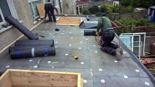domestic flat roof