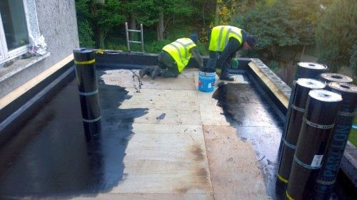 Commercial and Industrial Flat Roof installations and repairs