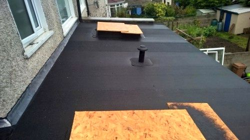 domestic flat roofs