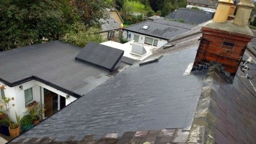 roof tiles and slates repaired