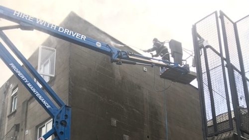 cherry picker - hire in Dublin with driver