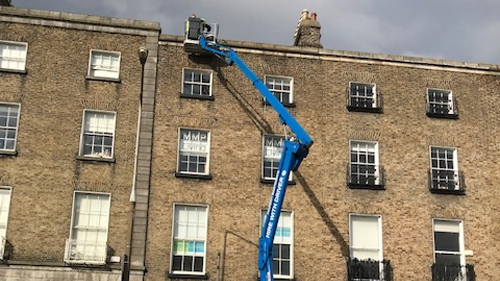 Cherry picker - rental in Dublin