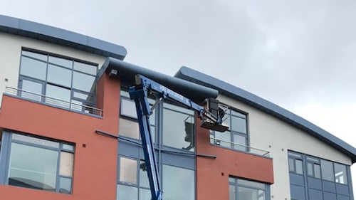 Cherry picker - work in Dublin